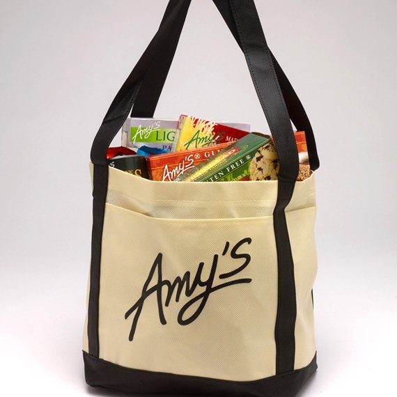 IPG Promo Tote bag with custom logo from Amy's Kitchen