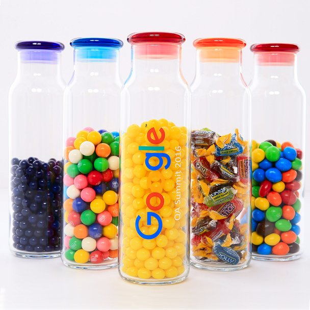 IPG Promo Custom branded clear containers
