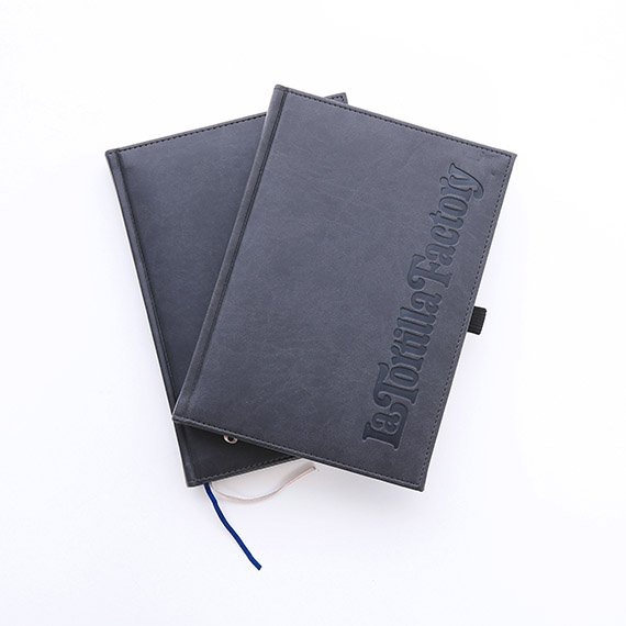 IPG Promo Custom branded notepads for La Tortilla Factory