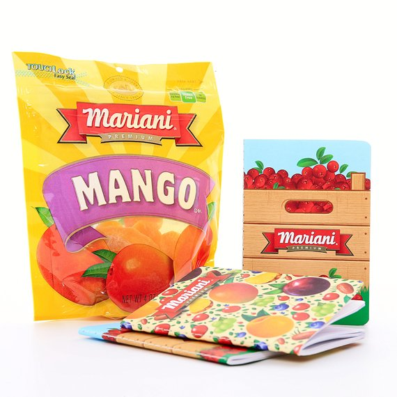IPG Promo Custom branded kits for Mariani Dried Fruits
