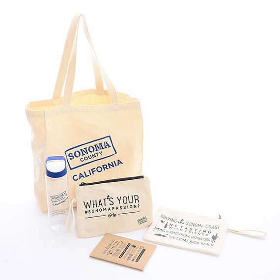 IPG Promo Custom gift bag for Sonoma County Tourism