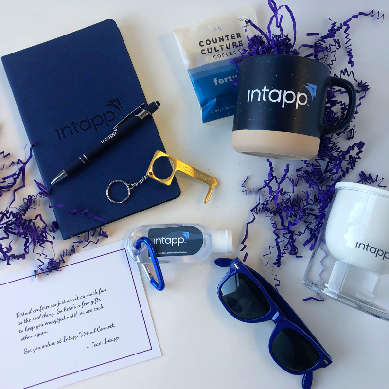 InTapp Connect 2020 swag box