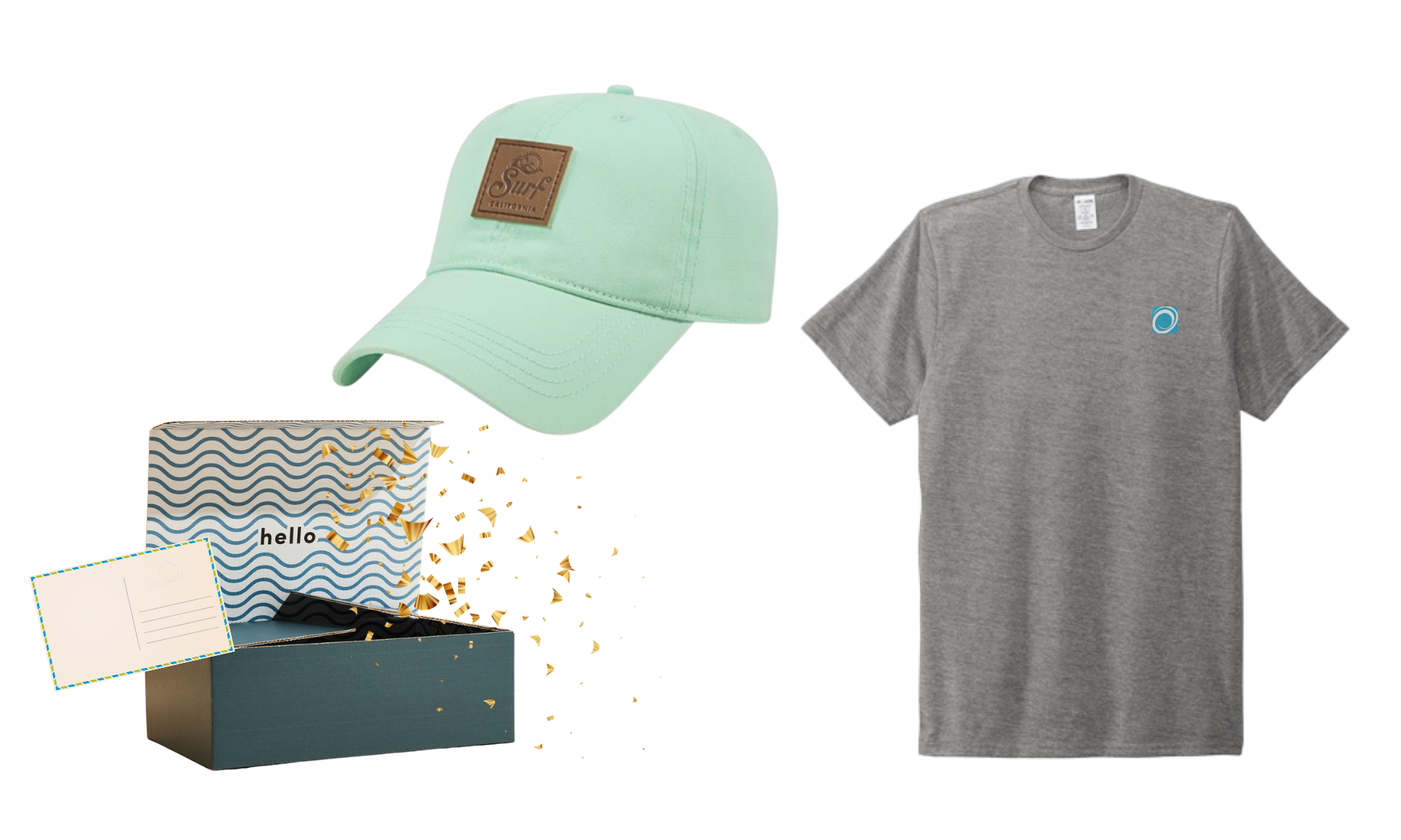 Curated gifts custom branded with your logo
