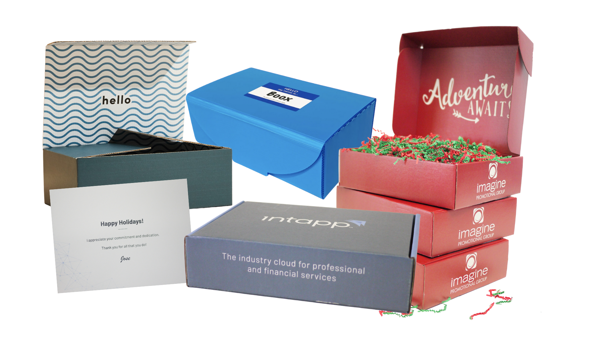 IPG offers branded logo packaging and boxes